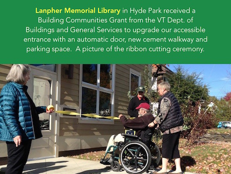 lanpher opens their new accessible entry
