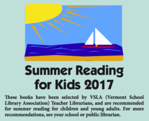 Summer reading for kids 2017 pamphlet cover